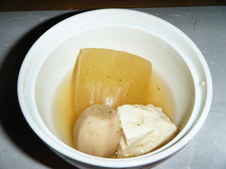 冬瓜 汲み上げ湯葉 小芋