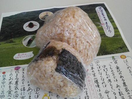 めかぶ梅、玄米