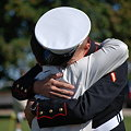 the Groom and His Marine Son