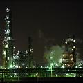 写真: 工場夜景 #3