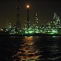 写真: 工場夜景 #4