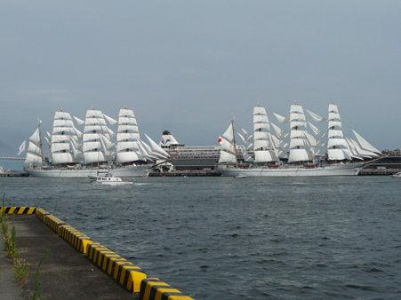 090720-大桟橋 総帆展帆 (57)