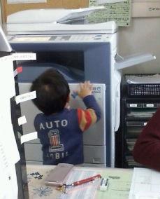 写真: 2歳児お手伝い