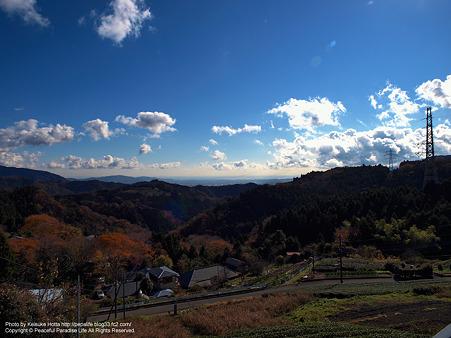 大野山の景色