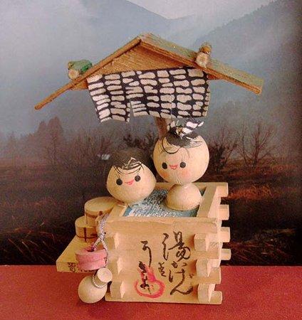 こけし人形,温泉土産