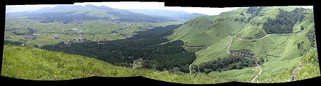 絶景の突端からのパノラマ