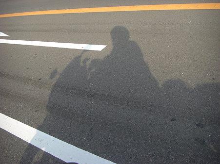 影が長くなってきました