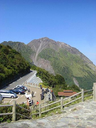 展望所から普賢岳