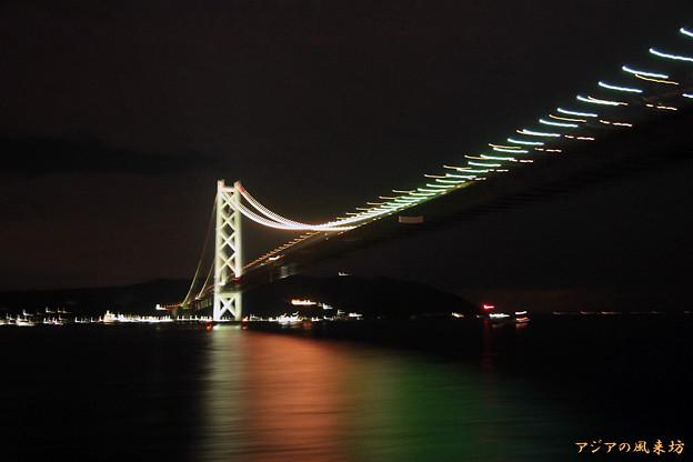 船上より 明石大橋