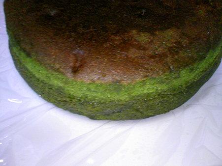 茶の環 贅沢抹茶満月(抹茶バターケーキ)(5)