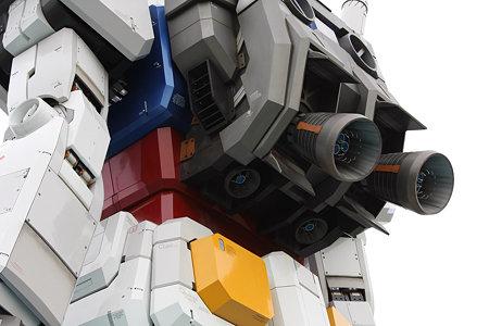 2009.07.11 お台場 ガンダム ロケットエンジン