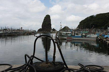 2009.08.14 山北市 漁港の給油場