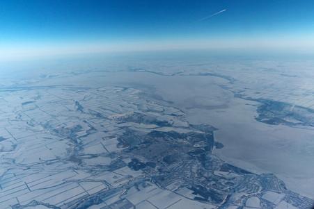 2011.01.29 トルコ→モスクワ SU-0208 地球は丸い…UFO?