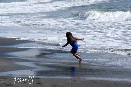 波が来るよ~♪