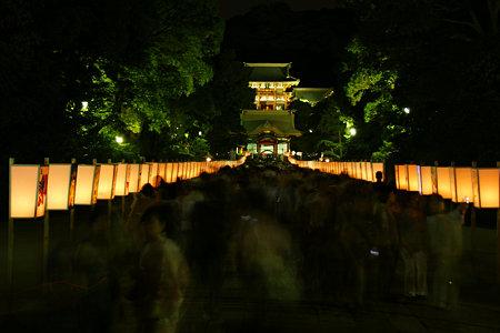 鎌倉ぼんぼり祭り始まる!(8/6)