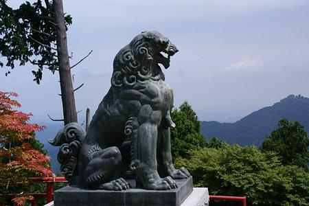 獅子武蔵御嶽神社090815-600