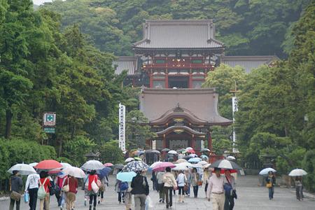 五月雨、梅雨の鎌倉!(110528)