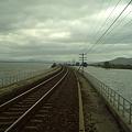 【タイ】ひまわり列車 Sunflower Train 2008 [16] ダム湖 Pa Sak Jolasid