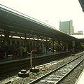 【タイ】ロッブリー Lopburi 2008 [06] フアランポーン駅のホーム