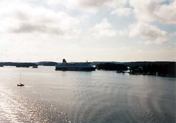 【26】タリンク・シリヤライン乗船 船上デッキからの眺め [2005]