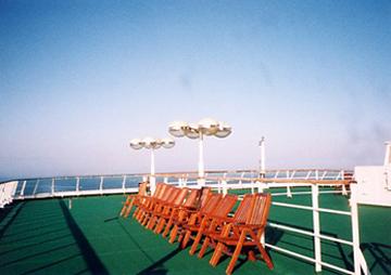 【25】タリンク・シリヤライン乗船|屋上デッキ [2005]