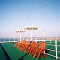 Photos: 【25】タリンク・シリヤライン乗船|屋上デッキ [2005]