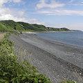 写真: 090617-38奥尻島の海岸
