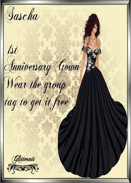 Sapphire's - Sascha - 1st Anniversary dress