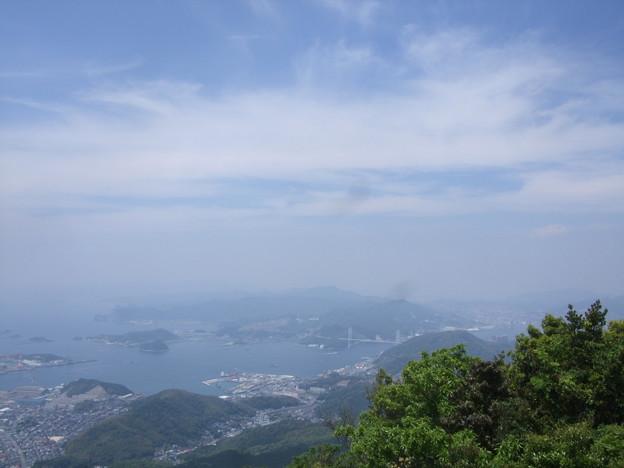八郎岳頂上からの眺め