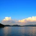 Photos: 西日差す瀬戸の海
