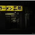 ラーメン二郎亀戸店@東京都江東区_豚入りラーメン+野菜増しニンニク_00