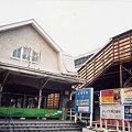 写真: 改築中の中村橋駅