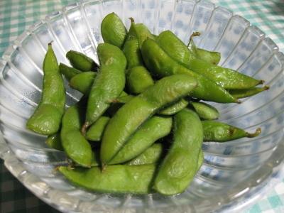 美味しい秘伝豆は2回にわけてたべます