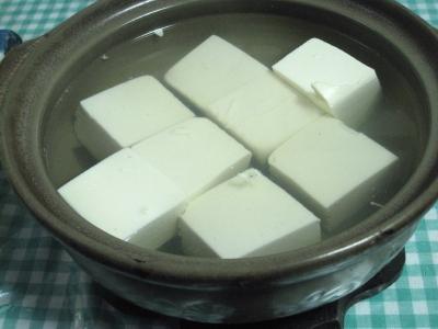 今シーズン初湯豆腐