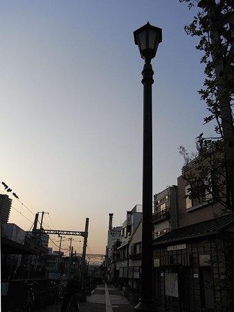 三ノ輪橋停留所 黄昏