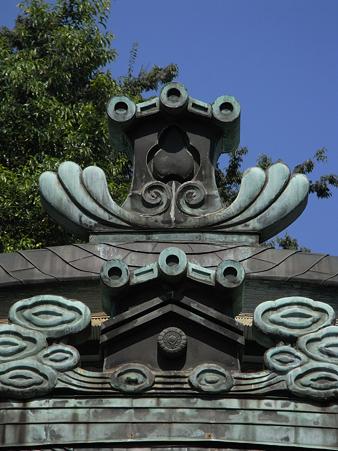 水稲荷神社の社頭