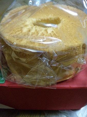 ちたらべシフォンケーキ