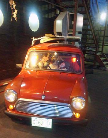 ドリィ船長のひげダンス車