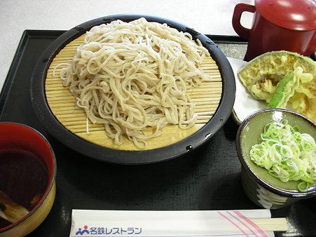 恵那峡SA・地粉手打ちと天ぷら