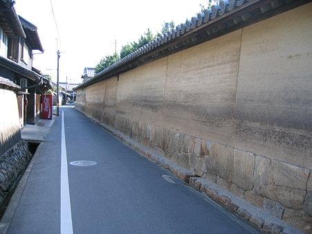 法隆寺 土塀