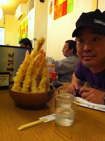 スーパー天丼 & イカニャン