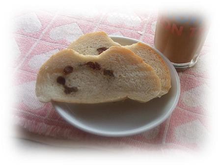 朝食で頂きました^^