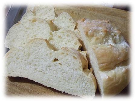 米粉テーブルパンをスライス