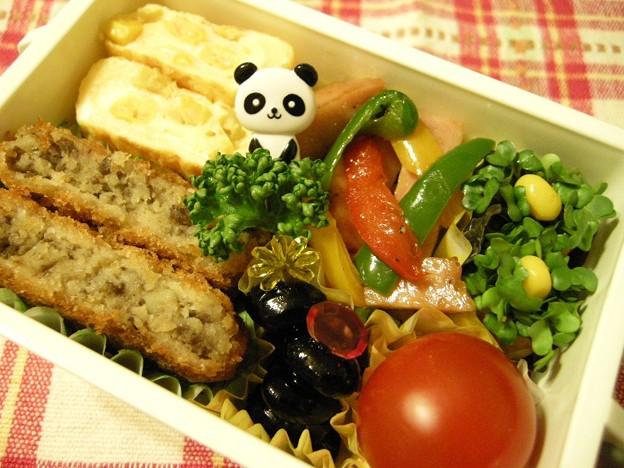 写真: お弁当