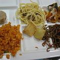 写真: ムスコの晩ご飯なう
