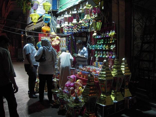 Photos: ファーヌースを売る店
