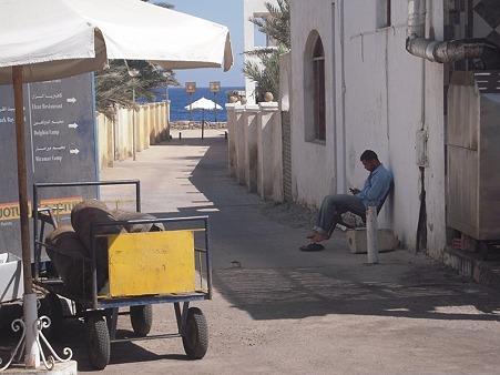 ダハブの路地