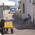写真: ダハブの路地