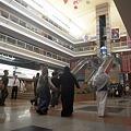 写真: トルゴマーン長距離バスターミナル内部