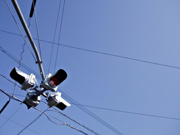 空と信号機